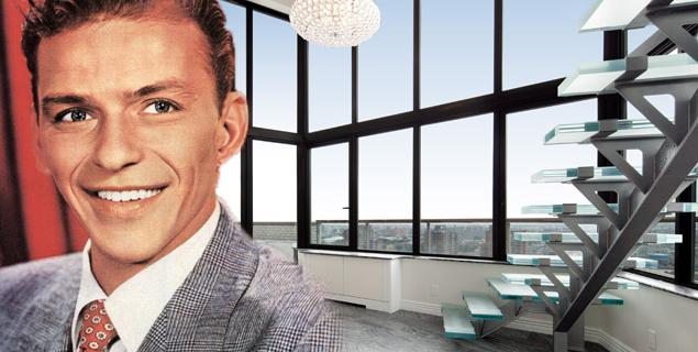 Frank Sinatra's penthouse in Manhattan, a modern space from an eternal voice  Frank Sinatra's penthouse in Manhattan, a modern space from an eternal voice sinatra