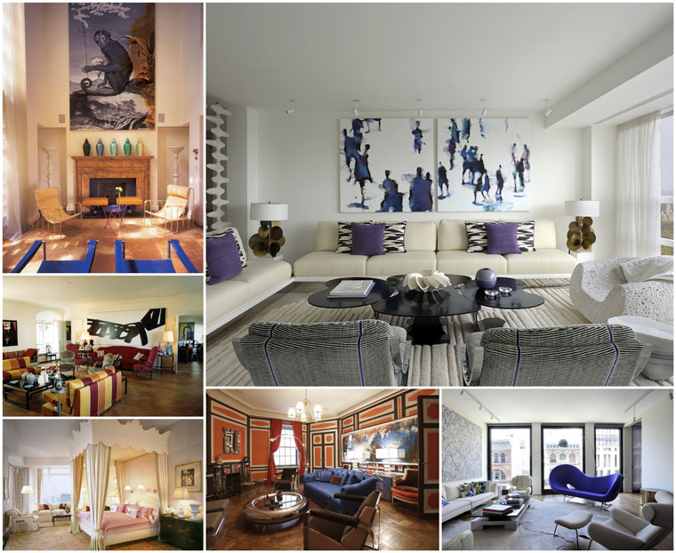 Robert Couturier | Haute Couture in Design apartment collage