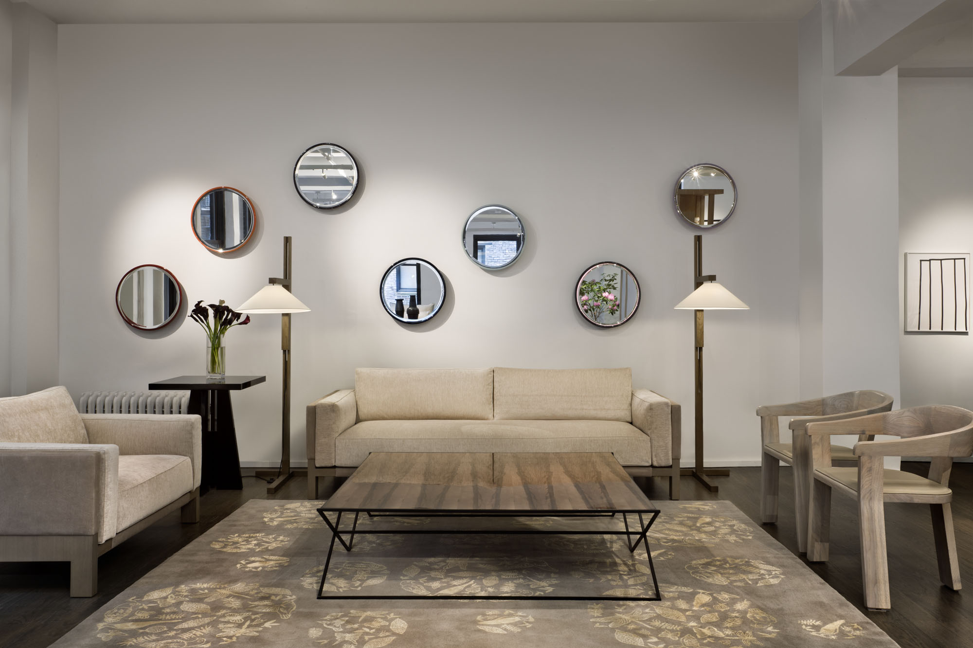 AVENUE ROAD New York  Avenue Room | Furniture Showroom New York AVENUE ROAD New York