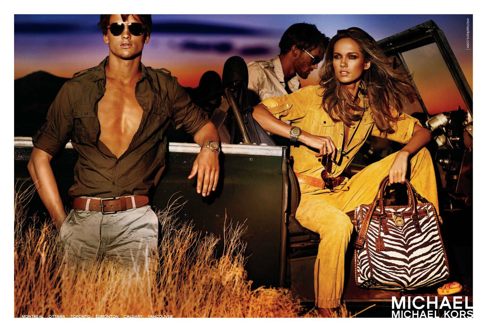Michael Kors Spring Summer 2012- Luxury Fashion Top 10 Luxury Fashion Campaigns of 2012 Michael Kors SS 2012 with Karmen Pedaru 4