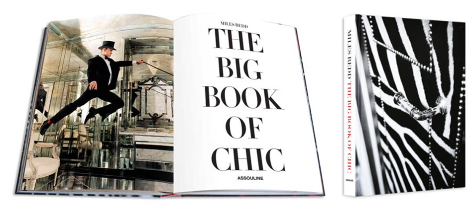 """Miles' newest book, The Big Book of Chic (Assouline, 2012), show his design inspired by chic, elegant decor at a young age and remains drawn to the same style of living to this day.""  The Big Book of chic by Miles Redd Captura"
