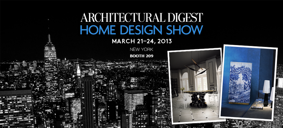 AD Home Design Show in New York: Best Stands home design show boca do lobo