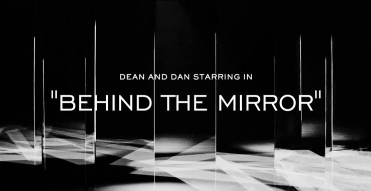 """Film by Mert and Marcus the Short Fashion Film starring Dean and Dan Caten is genius.""  ""Behind the Mirror"" the latest Short Fashion Film by Dsquared2 Behind the Mirror the latest Short Fashion Film by Dsquared"