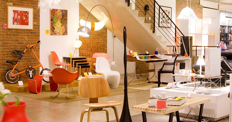 """During ICFF 2013, we suggest you to shop at the top 5 best design stores in NYC.""  Best Design Shops in New York Best Design Shops in New York1 740x390"