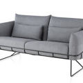 """""""Herman Miller introduced the new Wireframe Sofa Group during the New York Design Week 2013, designed by Sam Hecht and Kim Colin. """""""