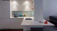 Manhattan-Micro-Loft-white-corner-kitchen-new-york-design-agenda apartment in new york How to Decorate a Small Apartment in New York Manhattan Micro Loft white corner kitchen 238x130
