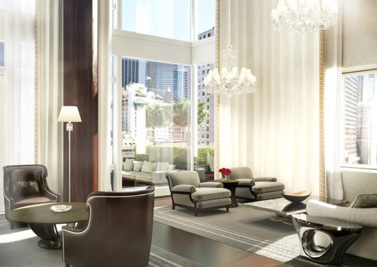 Ultra Luxury Baccarat Residences in New York by Tony Ingrao  Ultra Luxury Baccarat Residences in New York by Tony Ingrao New York Design Agenda Baccarat Residences1 550x390