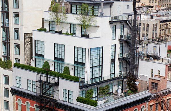 tribeca-modern-penthouse-NYDA  Luxurious NYC Penthouse Series: Part I tribeca modern penthouse NYDA 600x390