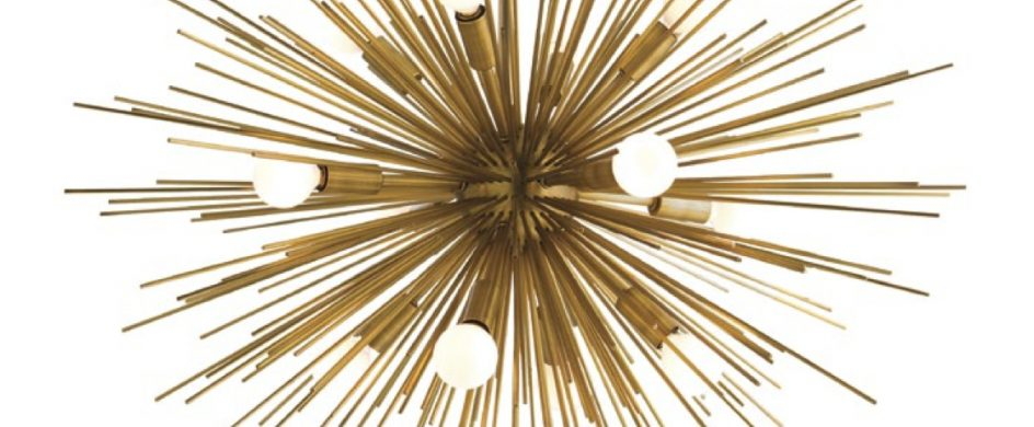 Arteriors Celebrates 25 Years with New Collection in New York  Arteriors Celebrates 25 Years with New Collection in New York Zanadoo Chandelier by Arteriors new york Design agenda1 944x390