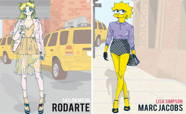 New York Fashion Week: Michele Moricci revives 90s Cartoon Character Outfits  New York Fashion Week: Michele Moricci revives 90s Cartoon Character Outfits nyfw1