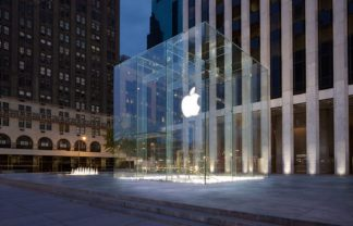 Apple_5th_Avenue  Top 7 Best New Architecture in New York City Apple 5th Avenue 324x208