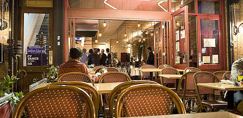 25 New York restaurants and bars with good food for less - Part I  25 New York restaurants and bars with good food for less – Part I chez lucienne nyc 800x390