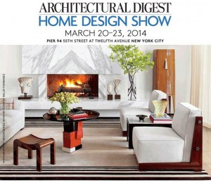 Architectural Digest Home Show 2014: Preview  Architectural Digest Home Show 2014: Preview ad show 2014 300x2601