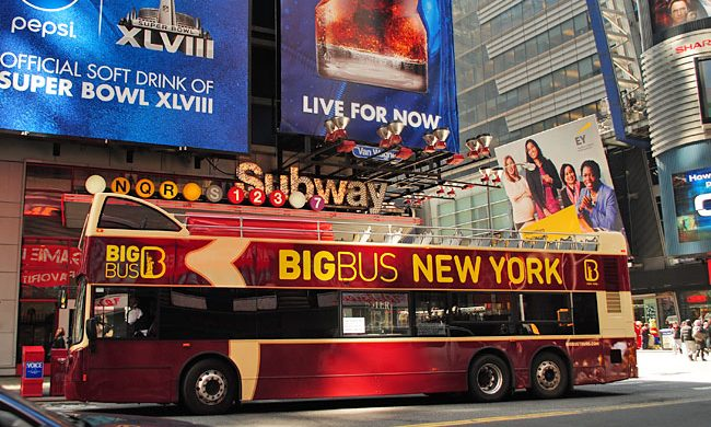Top Events you must visit in NYC  Top Events you must visit in NYC 1 big bus 650 650x390