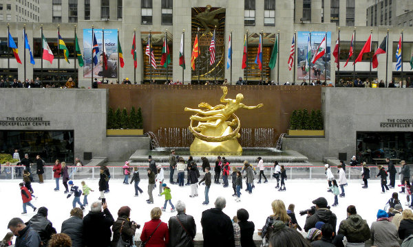 5 places you must visit in New York this Christmas_The rink at Rockefeller Center0  5 places you must visit in New York this Christmas 5 places you must visit in New York this Christmas The rink at Rockefeller Center0