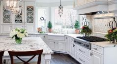 7 design ideas you can steal from dream houses  7 design ideas you can steal from dream houses White cabinets seem to be a major draw in the pinterest dream kitchen as well as granite slabs for the counter tops 238x130