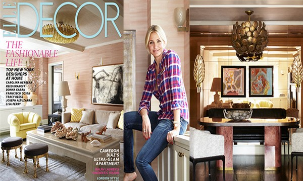 Cameron Diaz Unique New York Apartment by Kelly Wearstler  Cameron Diaz Unique New York Apartment by Kelly Wearstler Cameron Diaz Unique New York Apartment by Kelly Wearstler feature