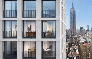 New York Skyscraper Project by David Chipperfield