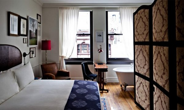 The Nomad Hotel in New York City  The Nomad Hotel in New York City The Nomad Hotel in New York City