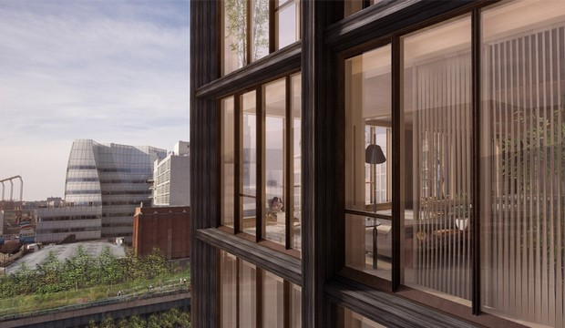 SHoP proposes New York's tallest timber-framed building