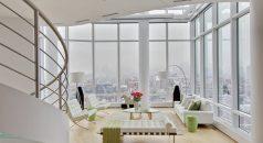 TOP INTERIOR DESIGNER: MARIE BURGOS  TOP INTERIOR DESIGNER: MARIE BURGOS white loft 238x130