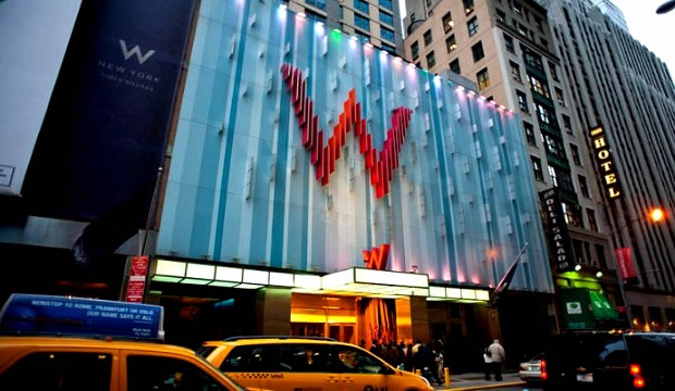 TOP Designed Hotel: W New York Downtown  TOP Designed Hotel: W New York Downtown coer