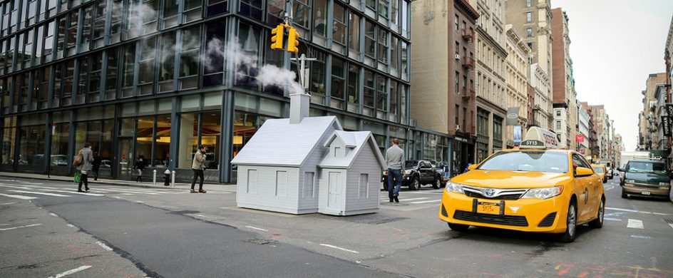 Mark Reigelman Brigns Cozy Cabins to New York's Steaming Manholes mark reigelman new york Mark Reigelman Brigns Cozy Cabins to New York's Steaming Manholes Mark Reigelman Brigns Cozy Cabins to New York   s Steaming Manholes Feature 944x390