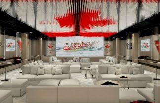 yabu pushelberg Yabu Pushelberg Designed The House of Canadian Athletes at Rio 2016 yabu pushelberg COC rio 2016 canada olympic house designboom 011 324x208