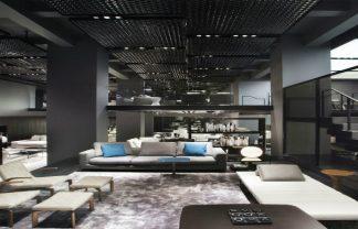 DDC Minotti Luxury contemporary lighting showroom in NYC
