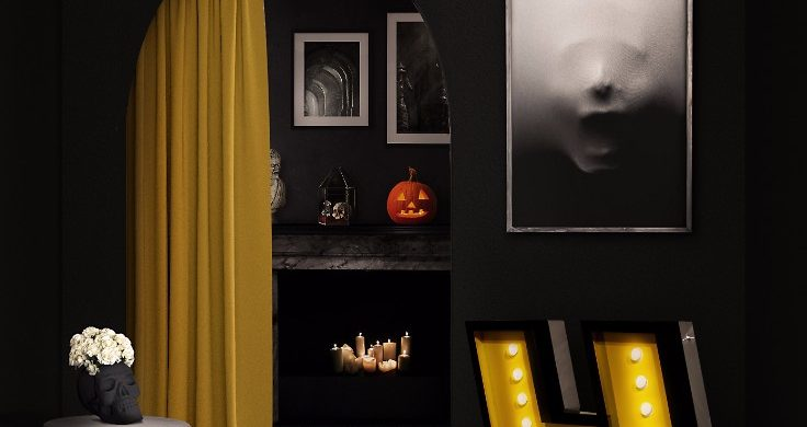 HALLOWEEN HOME DECOR IDEAS THAT WILL SURPRISE YOU HALLOWEEN HOME DECOR IDEAS THAT WILL SURPRISE YOU HALLOWEEN HOME DECOR IDEAS THAT WILL SURPRISE YOU 5 Halloween Home Decor Ideas Thatll Send Shivers Down Your Spine 2 736x390