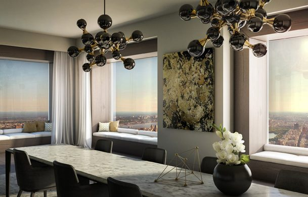 Take A Look At This Outstanding Penthouse At Park Avenue, New York penthouse Take A Look At This Outstanding Penthouse At Park Avenue, New York Inside MolteniCs Penthouse At Park Avenue New York 2 609x390