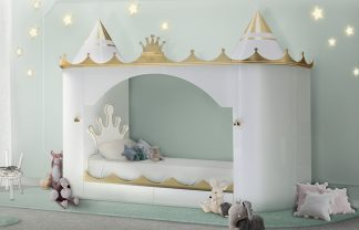 kids bedroom Trend Report: Discover Here The Top Kids Bedroom Trends For 2019 kings queens castle bed circu magical furniture 324x208