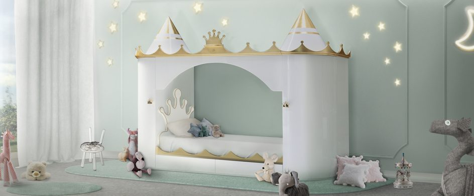 Trend Report: Discover Here The Top Kids Bedroom Trends For 2019 kids bedroom Trend Report: Discover Here The Top Kids Bedroom Trends For 2019 kings queens castle bed circu magical furniture 944x390