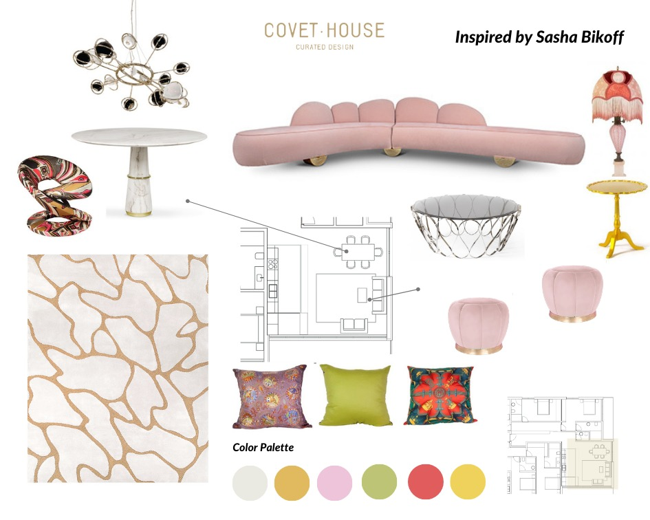 Elevate Your Living Room With This Moodboards Inspired By Sasha Bikoff's Style  sasha bikoff Elevate Your Living Room With This Moodboard Inspired By Sasha Bikoff's Style  elevate living room moodboards inspired sasha bikoffs style 1