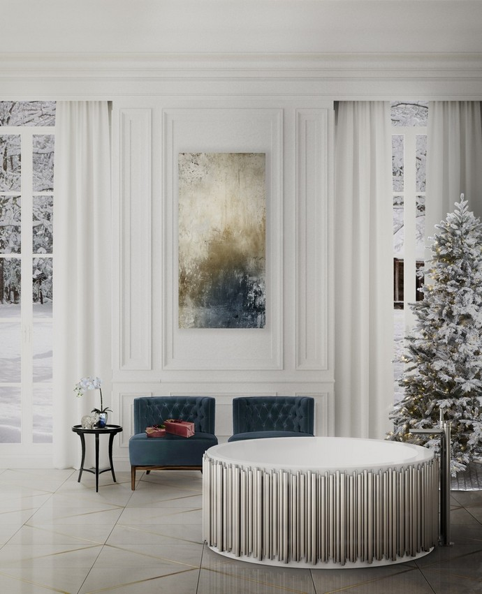 Holidays Decor: Bring The Christmas Into Your Luxury Bathroom luxury bathroom Holidays Decor: Bring The Christmas Into Your Luxury Bathroom holidays decor bring christmas into luxury bathroom 2 1