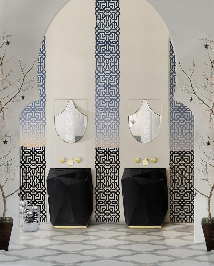 luxury bathroom Holidays Decor: Bring The ChristmasInto Your Luxury Bathroom holidays decor bring christmas into luxury bathroom 5 1