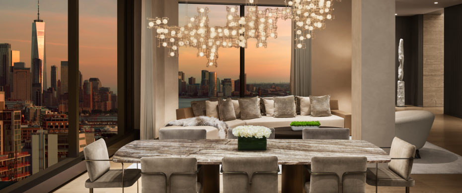 nycxdesign awards 10 Interior Design Projects that won the NYCxDESIGN Awards of 2019 NYCxDesign Awards 2019 Model Apartment 930x390
