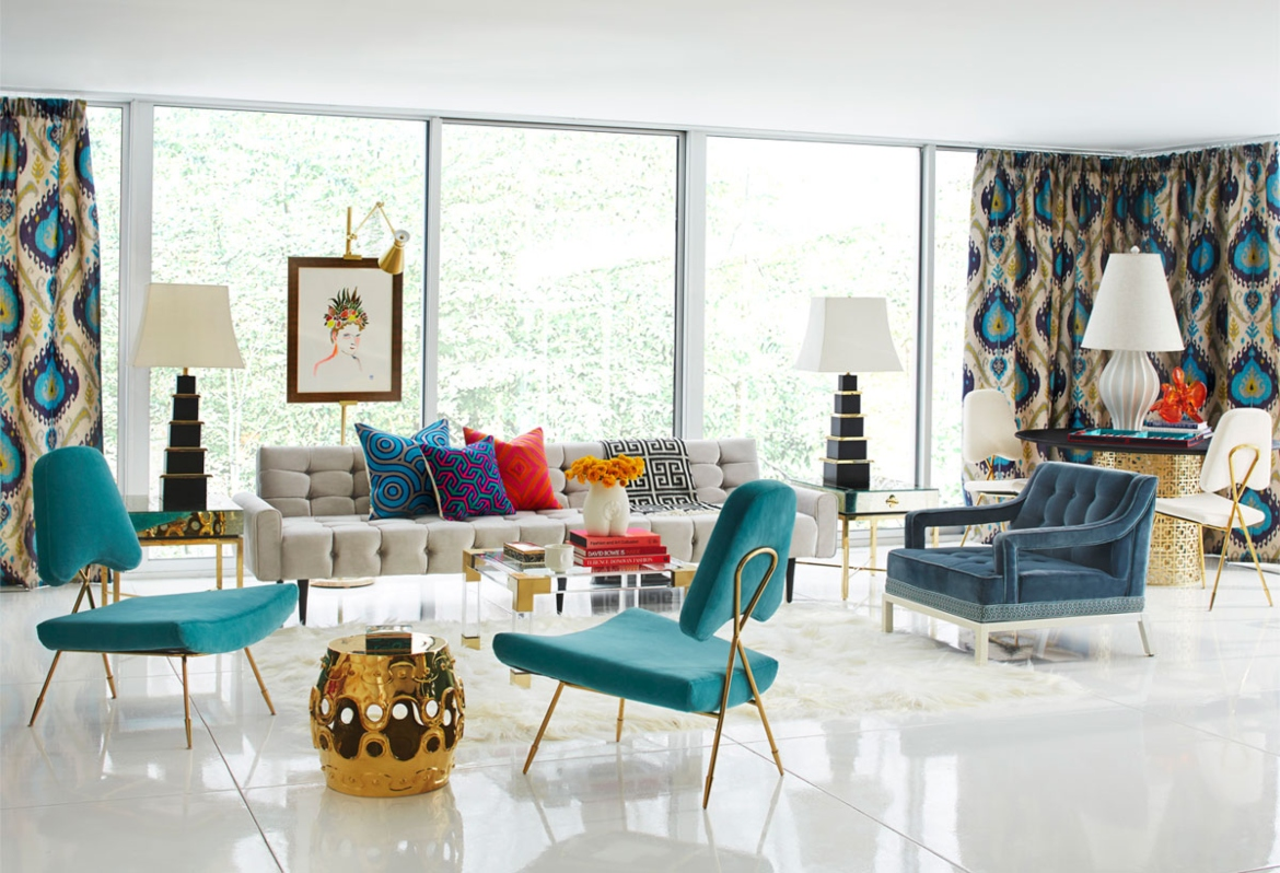 10 Interior Designers of NYC 10 interior designers of nyc 10 Interior Designers of NYC To Keep In Mind 18706 The Jonathan Adler Rutledge Sofa well surrounded 1